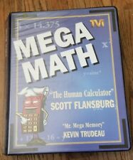 Mega Math Cassettes & Video,  Flansburg Human Calculator Good Condition
