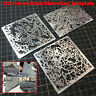 Corrosion Stain Stenciling Template Leakage Spray Plate Tools for Military Model