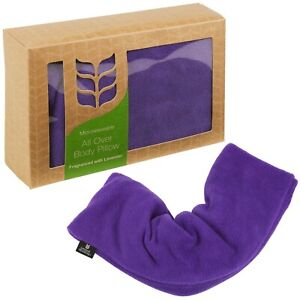 Microwavable Wheat All Over Body Soft Neck Pillow Lavender Scented Heat Therapy