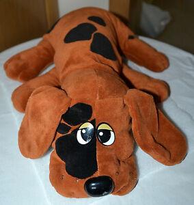 "VINTAGE 1985 Tonka Pound Puppies, LARGE 17"" PLUSH SPOTTED BEAGLE HOUND DOG TOY"
