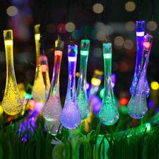 30 LED Solar String Lights Outdoor Waterproof Garden Path Yard Decor Fairy Lamp