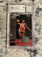 2004 Upper Deck Lebron James Jersey Bccg 10