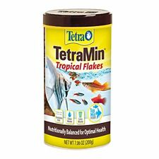 Tetra TetraMin 7.06-Oz Nutritionally Balanced Tropical Flake Food Tropical Fish