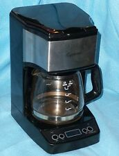 Jura Capresso 5-Cup Mini Drip Coffee Maker with Timer - Black & Chrome - #426