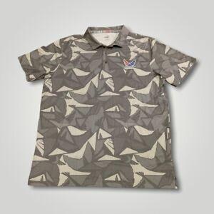 Puma Volition America Mens Golf Polo Shirt Short Sleeve Size Large