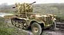 ACE 72286 1/72 Plastic WWII German Kfz.10/4 with 2cm Flak 38
