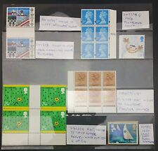 GB M&U Error / Flaw Collection inc Missing Phosphor, 2nd Class Necklace Flaw Etc
