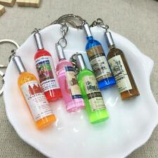 CN_ Creative Mini Beer Bottle Keychain Handbag Car Hanging Pendant Xmas Gift _GG