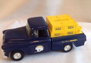 ERTL San Diego Chargers Die-Cast Chevy Cameo Truck Bank 1994