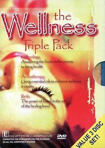 DVD 3-DVD SET Wellness Triple Pack - Reflexology + Aromatherapy + Reiki