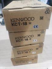 Kenwood kct-18 brand new lot of 4