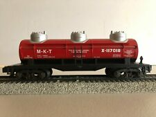 American Flyer 1996 Missouri Kansas Texas MKT 3 Dome Tank Car 6-48497 S Scale
