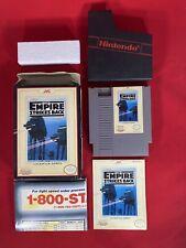 Star Wars: The Empire Strikes Back Nintendo Nes Complete In Box Cib *Rare Poster