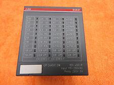 ABB DX531 S500 Digital Input/Output Module 8DI/4DO-Relay 230V *Warranty*