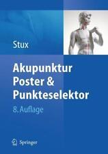 Akupunktur - Poster & Punkteselektor - Gabriel Stux - 9783642039348 PORTOFREI
