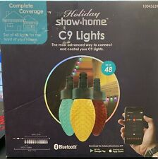 Holiday Show Home Lights Multi-Function APP CONTROLLED C9 LEDs Set of 48