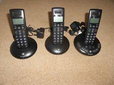 Digital Cordless Telephone Answering Machine BT Graphite 2500 Trio