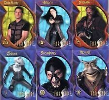 FARSCAPE - Series 2  Preview Promo Card Set  AU1 TO AU6  6 CARDS FACTORY SEALED
