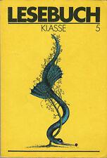 DDR Schulbuch Lesebuch 5. Klasse 1987 sehr gut erhalten Ostalgie DEUTSCH
