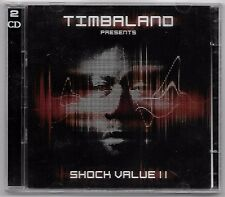 DOUBLE CD RAP US / TIMBALAND - SHOCK VALUE II / 25 TITRES (ANNEE 2010)