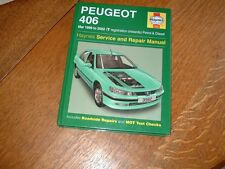 HAYNES MANUAL FOR PEUGEOT 406. 1999 TO 2002. T REG ONWARDS