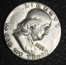 1953-s Franklin Half Dollar.   (INV-A)