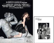 Purple Fashion NO 15 S/S2011,LAETITIA CASTA,LADY GAGA,Tom Ford,Terry Richardson