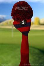 new #1 RED BLUE POM POM headcover golf club head cover fits Taylormade driver