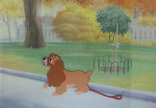 Lady and the Tramp - Framed Original Production Cel - Featuring Lady
