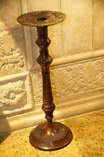 Holsey Classic Collection Candle Stick Holder Taper Pillar India Cast Metal Red