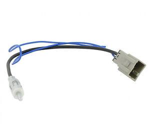 Mazda 323 coche antena//Antena Adaptador Para Radio De Coche//CD ISO a DIN