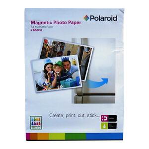 A4 Creative Magnetic Printer White Photo Paper - Polaroid – 2 Sheets