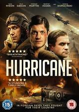 HURRICANE (2018): Drama, Polish Pilots in World War 2 -  NEW Rg2 DVD not US