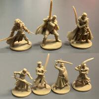Set of 7 Golden DND Dungeons & Dragon D&D Marvelous Miniatures toy game figures