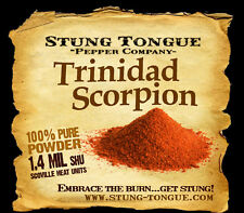 TRINIDAD SCORPION, 1/2 OZ, Powder, Worlds hottest peppers, dried chile pepper