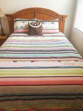 """ROXY Teen Bedding """"Isabel"""" 5 Pc Queen Duvet Cover Comforter Set"""