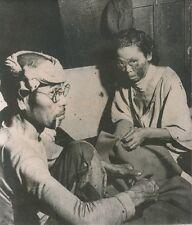JAPON 1955 - Hiroshima Survivants de la Bombe Atomique 10 ans après - PR 53