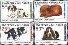 Bulgaria 4265-4268 (edición completa) usado 1997 perros de raza