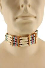 Indian Costume Choker Plastic Beads Native American CLOSEOUT