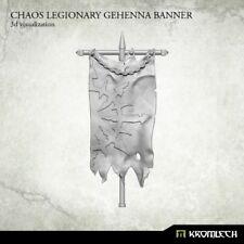 Chaos Legionary Gehenna Banner - Kromlech