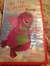 BE MY VALENTINE LOVE, BARNEY VIDEO BABY BOP ~VALENTINES DAY VHS~ QUEEN OF HEARTS