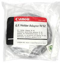 Anello Adattatore Canon 52mm per gelatina-Supporto IV (Nuovo/Scatola Originale)