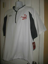 Rawlings Men's Golf Wind/Rain Windbreaker Short Sleeve Shirt Xl White Bwt