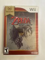 the legend of zelda twilight princess Nintendo wii Complete With Manual Tested!