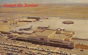 Sunport Airport Albuquerque New Mexico postcard