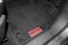 NISSAN MICRA k14 2017 in velluto tappeto pedane ROSSO NUOVO E ORIGINALE ke7555f001bu