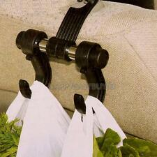Universal Auto Car Truck Seat Back Double Hangers Organizer Hook Headrest Holder