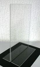 5x T-Aufsteller T-Ständer Acryl DIN A6 Preisaufsteller