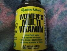 Bradeson Naturals Women's Multi vitamin 60 Capsules Brand New