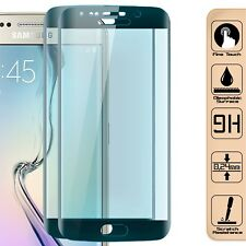 2x 3D Curved Display Schutzglas Cover für Samsung Galaxy S6 Edge 9H Glasfolie